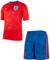 Kids England 2020-21 Training  Kit With Free Name & Number