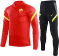 Kids AS Rome 2021-22 Red Tech Training Suit
