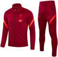 Kids Liverpool 2021-22 Deep Red Football Tracksuit Soccer Tracksuit