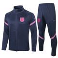 Kids England 2020-21 Navy Blue Track Suit