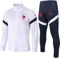 Adult France 2020-21 White Track Suit