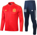 Adult Spain 2020-21 Red Track Suit
