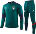 Kids Italy 2020-21 Renaissance Green Technical Training Suit