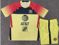 Kids Club América 2021-22 Yellow Football Kit With Free Name & Number