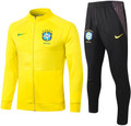 Adult Brazil 2020-21 Yellow Track Suit