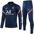 Adult PSG X Jordan 2020-21 (A) Navy Football Soccer Tech Training Suit