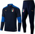 Adult Italy 2020-21 Blue Technical Training Suit