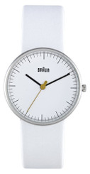 BRAUN LADIES ANALOG WATCH (white)