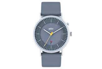 BRAUN MENS ANALOG WATCH