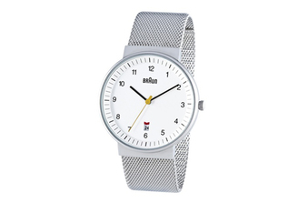 BRAUN MENS ANALOG WATCH amei-bn32whslmhg
