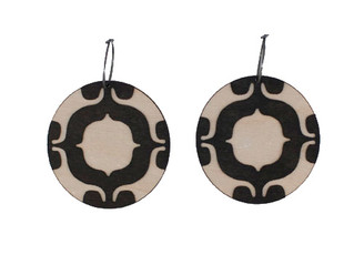 Molly M Design-FIGURE GROUND EARRINGS