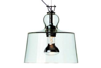 ACQUATINTA SUSPENDED LAMP - GREEN MURANO GLASS design by Michele DeLucchi