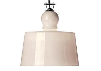 ACQUATINTA SUSPENSION LAMP - WHITE MURANO GLASS design by Michele DeLucchi