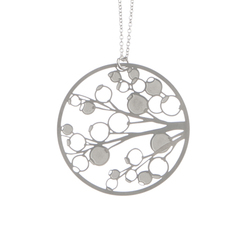 POLLI STAINLESS STEEL BERRIES PENDANT