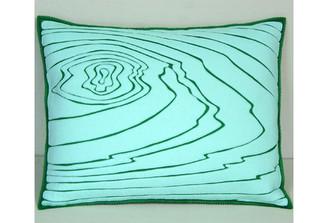 Sandor Applique Rosewood Pillow