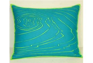 Sandor Applique Rosewood 1 Pillow