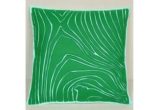 Sandor Applique Rosewood Pillow sandor-PI-351
