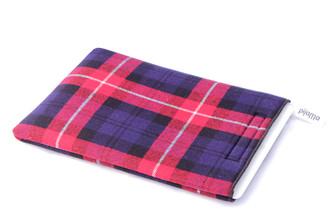 iPad Case by Pijama (Tartan- Red, Blue, White)
