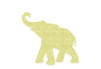 WALLPAPER WILDLIFE BABY ELEPHANT by Inke Heiland wm-babyelephant-004
