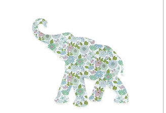 WALLPAPER WILDLIFE BABY ELEPHANT by Inke Heiland wm-babyelephant-0050