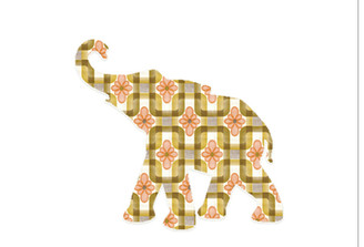 WALLPAPER WILDLIFE BABY ELEPHANT by Inke Heiland wm-babyelephant-0063
