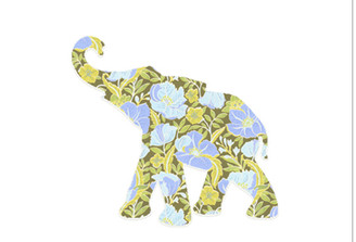WALLPAPER WILDLIFE BABY ELEPHANT by Inke Heiland wm-babyelephant-0149