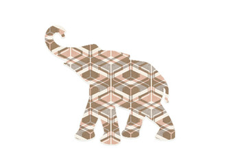 WALLPAPER WILDLIFE BABY ELEPHANT by Inke Heiland wm-babyelephant-0159