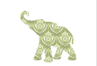 WALLPAPER WILDLIFE BABY ELEPHANT by Inke Heiland wm-babyelephant-0164