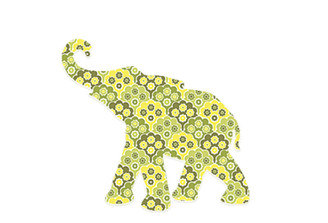 WALLPAPER WILDLIFE BABY ELEPHANT by Inke Heiland wm-babyelephant-0185