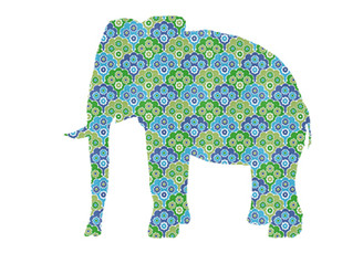 WALLPAPER WILDLIFE ELEPHANT by Inke Heiland wm-elephant-0036