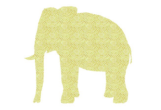 WALLPAPER WILDLIFE ELEPHANT by Inke Heiland wm-elephant-004
