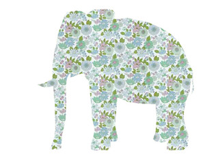 WALLPAPER WILDLIFE ELEPHANT by Inke Heiland wm-elephant-0050