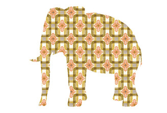 WALLPAPER WILDLIFE ELEPHANT by Inke Heiland wm-elephant-0063