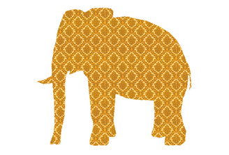WALLPAPER WILDLIFE ELEPHANT by Inke Heiland wm-elephant-0139