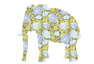 WALLPAPER WILDLIFE ELEPHANT by Inke Heiland wm-elephant-0149