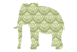 WALLPAPER WILDLIFE ELEPHANT by Inke Heiland wm-elephant-0164