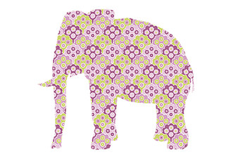 WALLPAPER WILDLIFE ELEPHANT by Inke Heiland wm-elephant-0184
