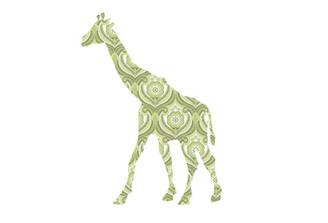 WALLPAPER WILDLIFE GIRAFFE by Inke Heiland wm-giraffe-0164