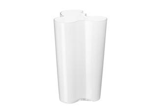 """Iittala Alvar Aalto Collection Finlandia Vase 10"""", White"""