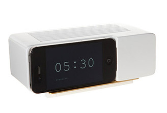 ALARM DOCK WHITE design by Jonas Damon