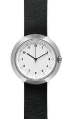 NORMAL TIMEPIECES- FUJI WATCH (White Face with Leather or Nylon Band)