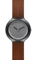 NORMAL TIMEPIECES- FUJI WATCH (Grey Face with Leather or Nylon Band)