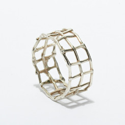 KIEL MEAD LINK RING (GOLD OR SILVER)