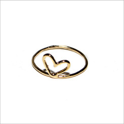KIEL MEAD HEARTSMITH RING GOLD