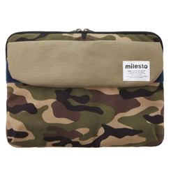 "MILESTO 13"" LAPTOP CASE ARMY GREEN"