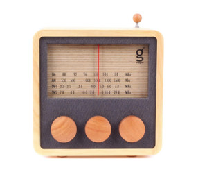 MAGNO WOODEN RADIO- MEDIUM design by Singgih Kartono
