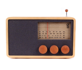MAGNO WOODEN RADIO (LARGE) design by Singgih Kartono