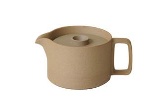 Hasami Porcelain Teapot Natural 5.2/3 x 4.1/8 (40 floz) (HP018)