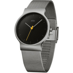 Braun - Men's BN-211BKSLMHG Classic Slim Watch
