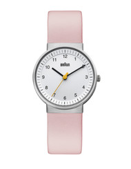 Braun - Ladies' BN-31WHLPKL White dial, Pink leather band